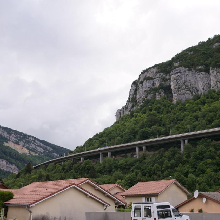 Frankreich Durchfahrt