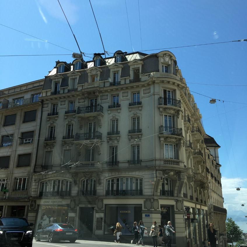 Genf auf der Durchfahrt