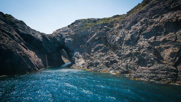 Cap de Creus Catalunya from sea