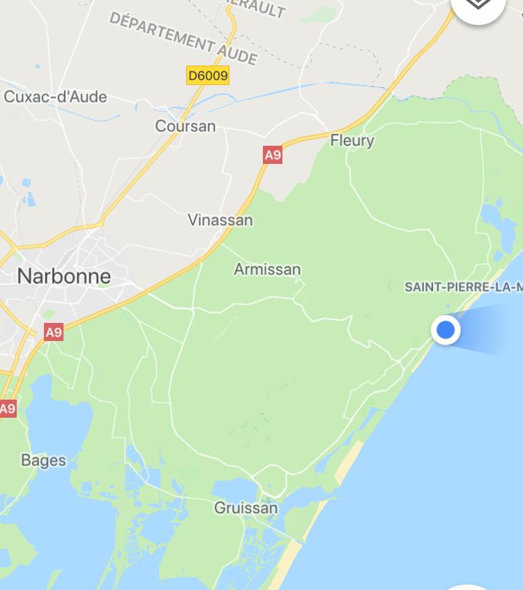 Kurzer Stop in Saint Pierre La Mer