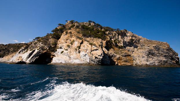 Cap de Creus Catalunya from sea view