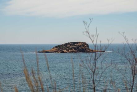 Island in Altea, Spain