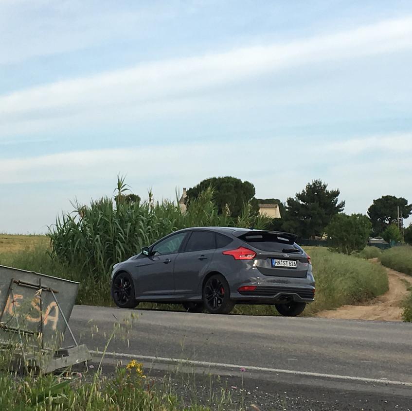 Fahrt durch Südfrankreich