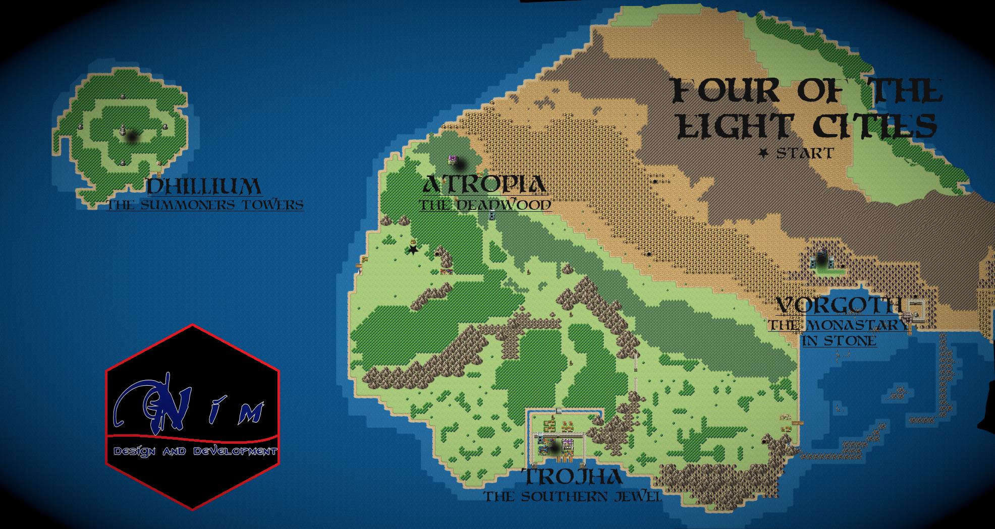 Isthania Map