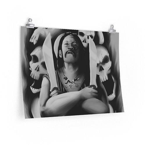 """""""Machete, A Trejo Tribute"""" Poster, Original by Mu"""