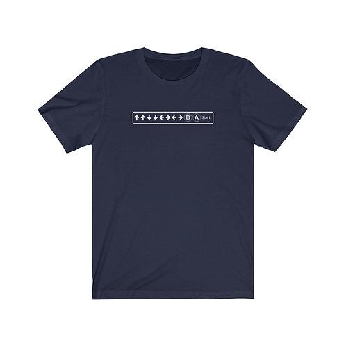 Konami Code Short Sleeve Tee