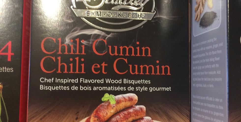 PREMIUM Bradley Smoker Bisquettes chili cumin flavor 24p