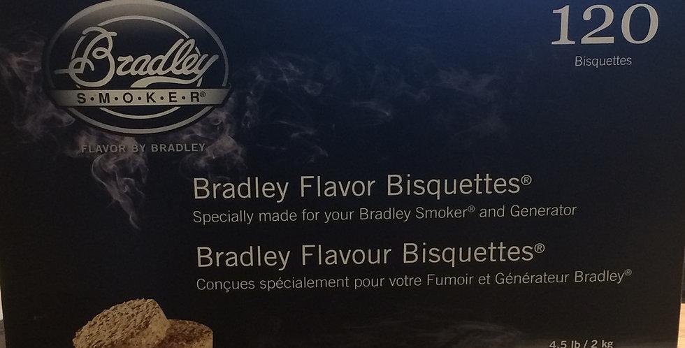 Bradley Smoker Bisquettes maple flavor 120p