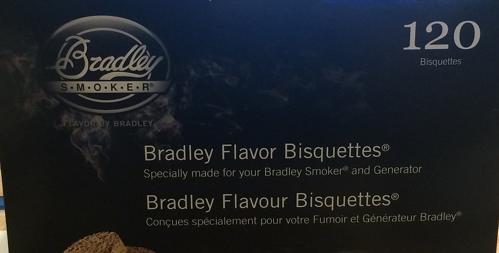 Bradley Smoker Bisquettes pacific blend 120p