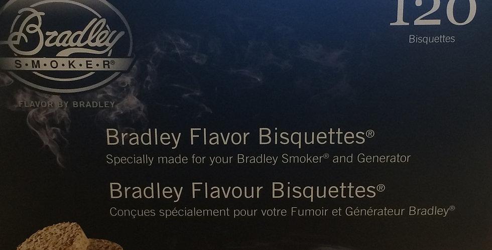Bradley Smoker Bisquettes apple flavor 120p