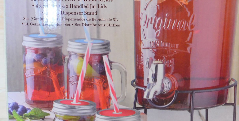 KILNER Drink Dispenser Set
