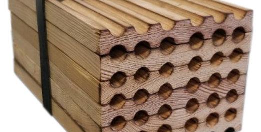 Mason bee Wood quick block