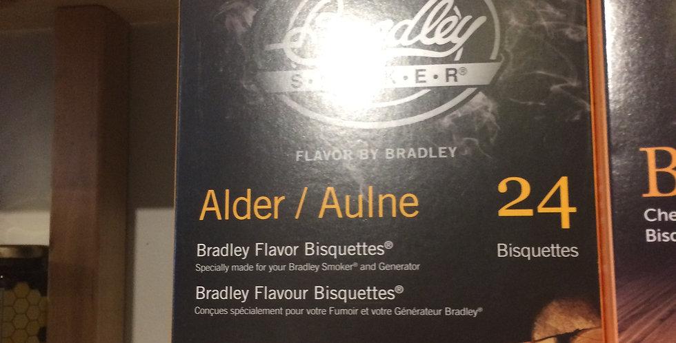 Bradley Smoker Bisquettes alder flavor 24p