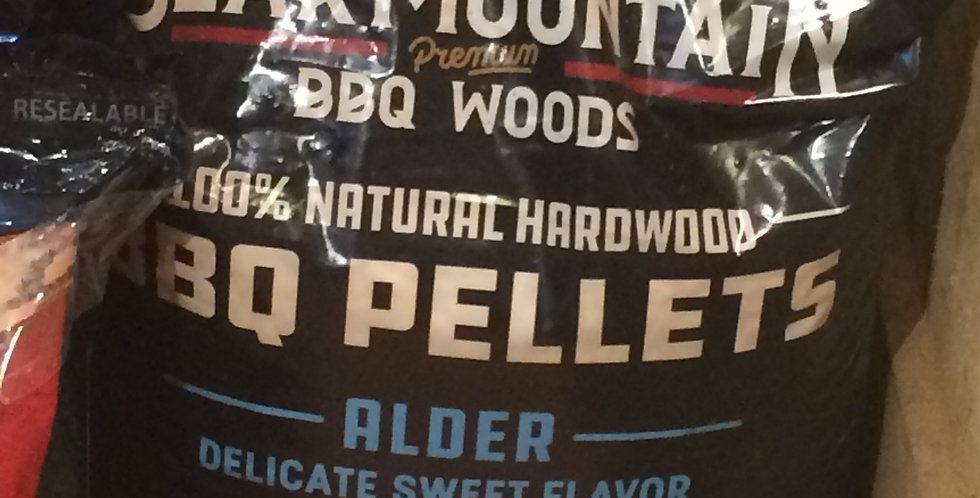 Bear mountain BBQ alder pellets 20lb
