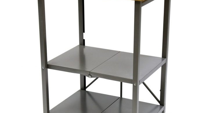Bradley Folding Kitchen Cart