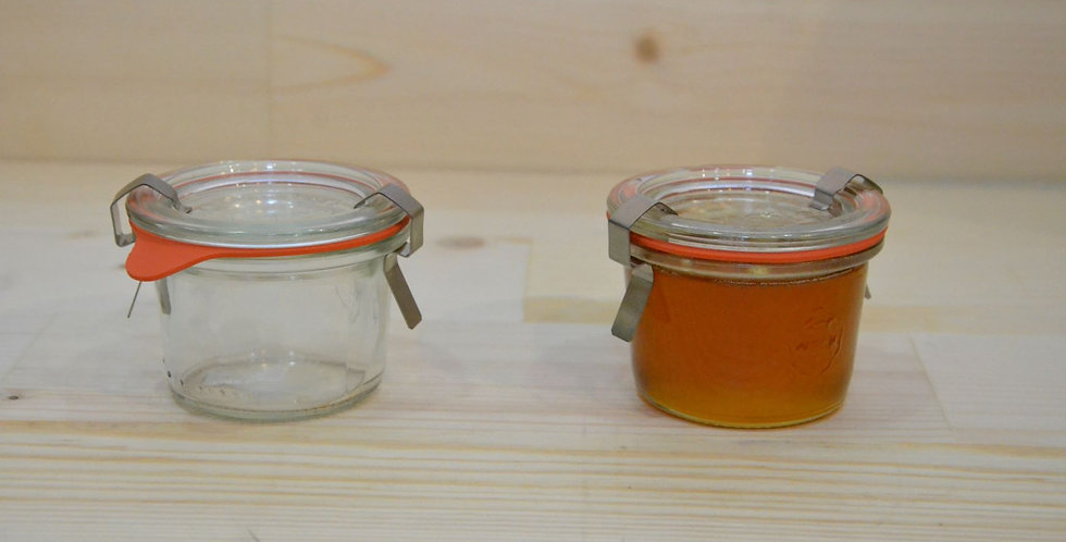 Weck mini  mold jars 165ml