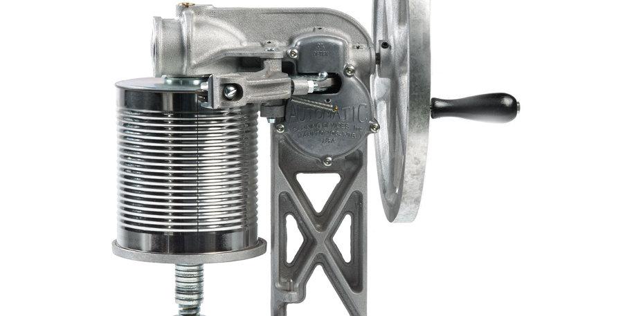 All American 1502 Flywheel Can sealer