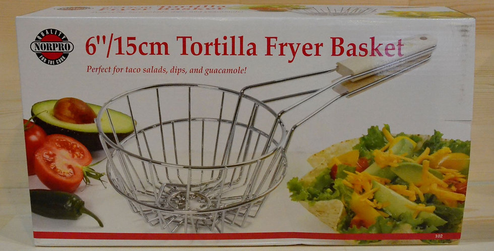 "NorPro 6""/15cm Tortilla Fryer Basket"