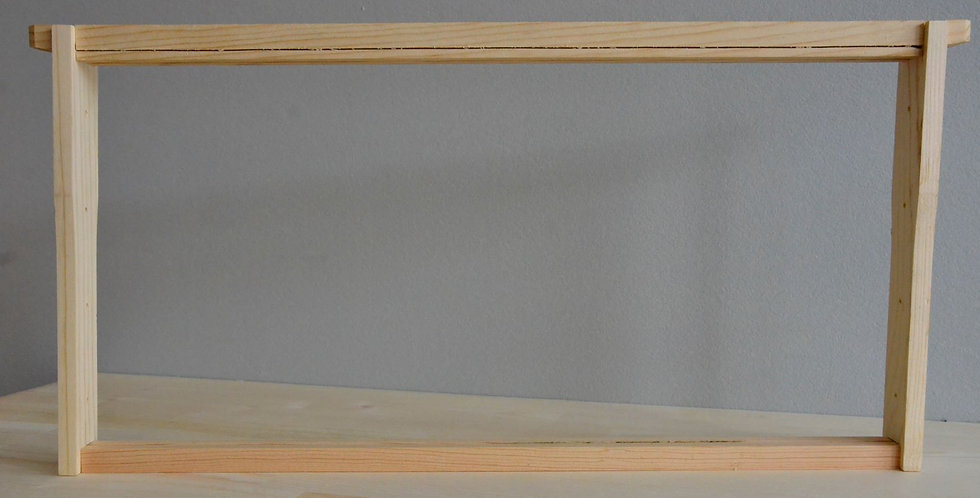 Medium Wood Frame Unassembled