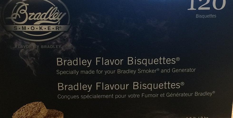 Bradley Smoker Bisquettes special blend 120p