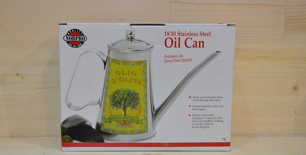 NorPro Stainless Steel Oil Can 18/10