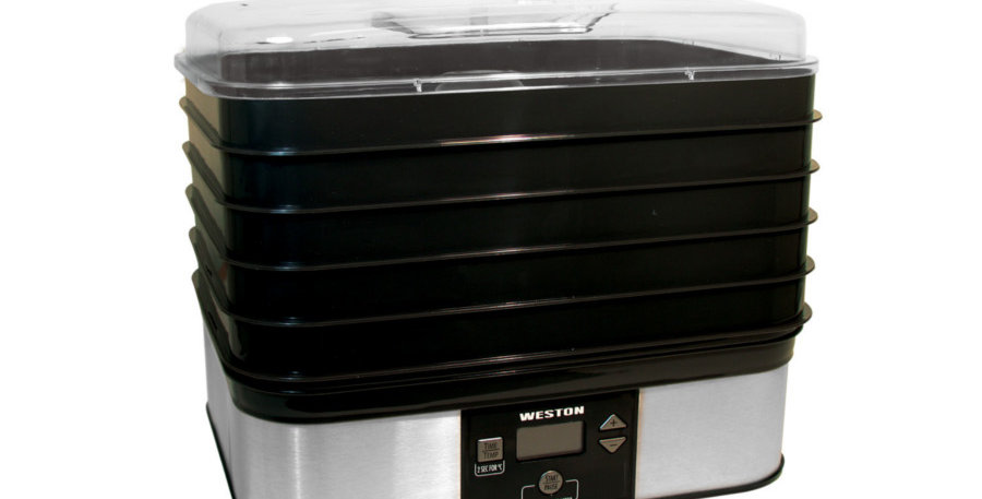 Weston 6 tray square Digital Dehydrator 500W