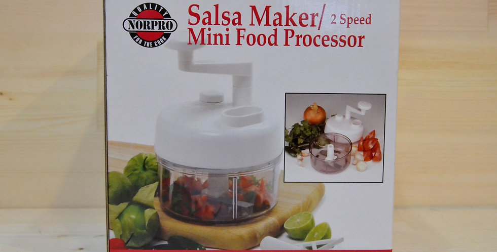 NorPro 2 Speed Salsa Maker/Mini Food Processor