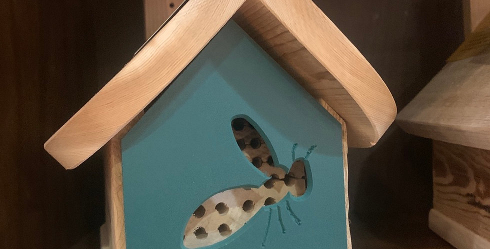 Mason Bee & Leafcutter Bee House