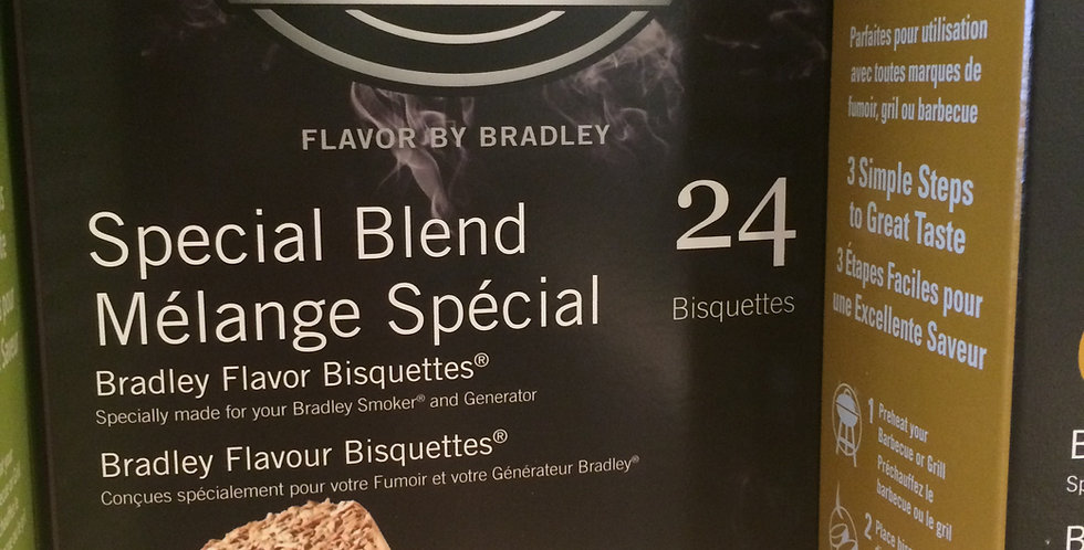 Bradley Smoker Bisquettes special flavor 24p