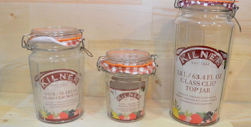 Kilner Faceted Jars