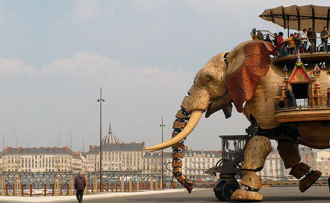 Les Machines de l'Île : l'éléphant