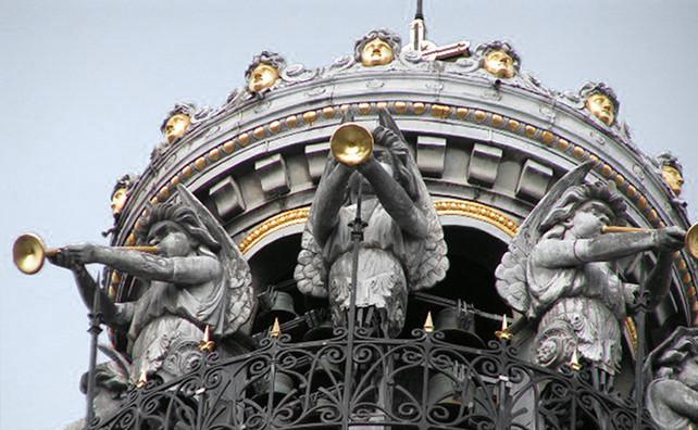 L'église Sainte Croix à Nantes