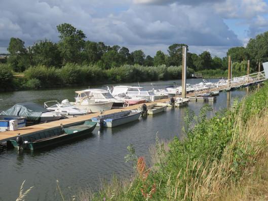 Port sur une boire de la Loire