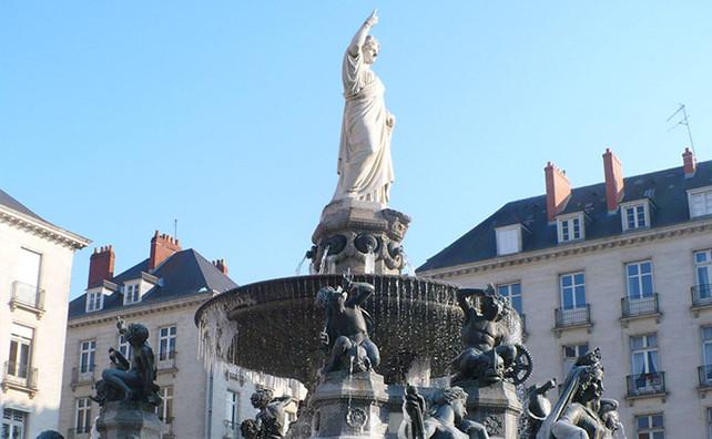 La Place Royale de Nantes