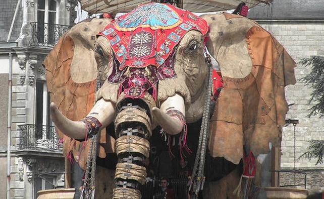 Le grand éléphant de Nantes