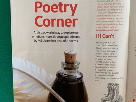 If I Can't poem published in MS Matters magazine