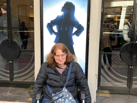 Jumping Jules Saw 'Matilda the Musical' in London!