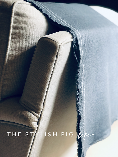 The Stylish Pig 4 way wrap in french grey