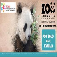 Jornadas familiares en el ZOO AQUARIUM de Madrid