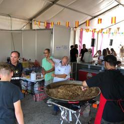 Paella 2018 cocina
