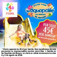 JORNADAS FAMILIARES EN AQUOPOLIS