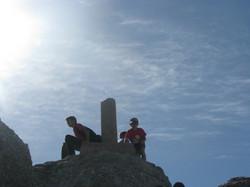 Cima del pico Urbión