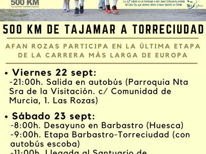 22ª Carrera 500 KM Tajamar-Torreciudad