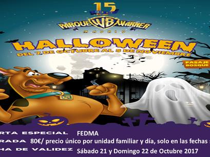 JORNADAS FAMILIARES EN EL PARQUE WARNER