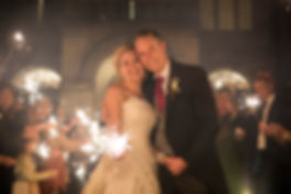 bride and groom coombe lodge, sparkler shot bride and groom coombe lodge, night wedding shot