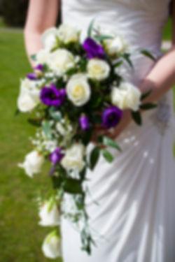 Brides bouquet, roses
