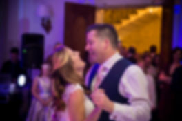 first dance, loving and happy