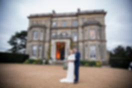 bride and groom hedsor house
