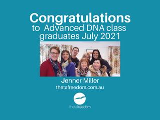 Advanced DNA Theta Healing Class, July 2021