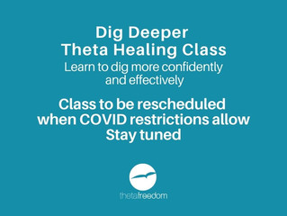 Dig Deeper in person course rescheduling